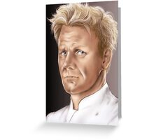 Gordon Ramsay - Hell's Kitchen Greeting Card