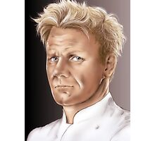 Gordon Ramsay - Hell's Kitchen Photographic Print
