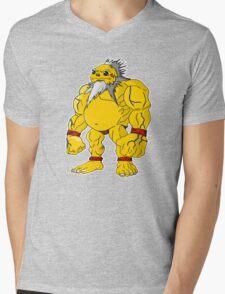 POKEMON FORT Mens V-Neck T-Shirt