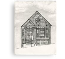 House on Potrero Hill, San Francisco Canvas Print