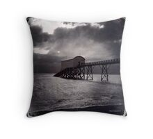 Lifeboat Musuem Throw Pillow
