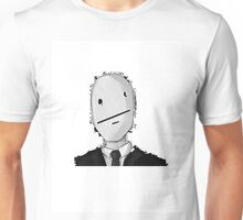 Slenderman Poker-Face Unisex T-Shirt