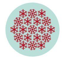 Mandala snowflake I by ugokisai