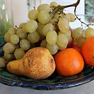 Fruit in Tuscany by Angela Gannicott