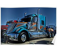 2013 International Semi Truck Southern Pride Poster