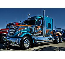 2013 International Semi Truck Southern Pride Photographic Print