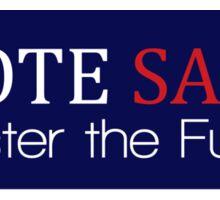 Vote Harold Saxon Sticker