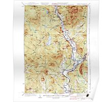 USGS Topo Map  Vermont VT Guildhall 337955 1937 62500 Poster