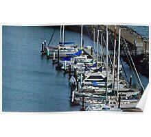 Sail Boats, San Fransisco Bay Poster