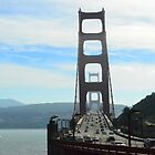 Golden Gate Bridge, Sausilito side by kellimays