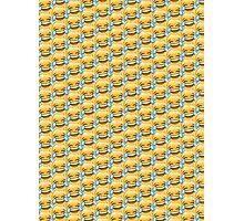 Crying Laugh Emoji Pattern Photographic Print