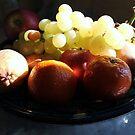 Fruit in Tuscany 2 by Angela Gannicott