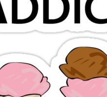 Ice Cream Addict Sticker