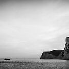 England Panorama BW - Duddle Door by lesslinear