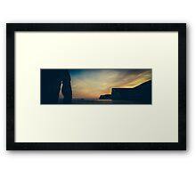 England Panorama - Duddle Door Framed Print
