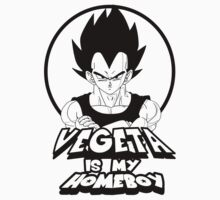 VEGETA IS MY HOMEBOY by toxtethavenger