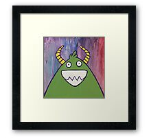 Monsters: Jimmy Framed Print