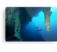 Blue Hole Belize Metal Print