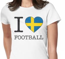 I ♥ SWEDEN Womens Fitted T-Shirt