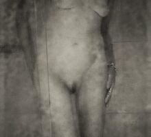 Shower room nude by Dave Hare