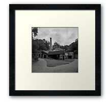 Bobbin Mill, Combria Framed Print