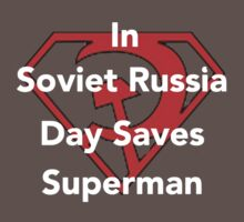 DAY SAVES SUPERMAN by BSRs