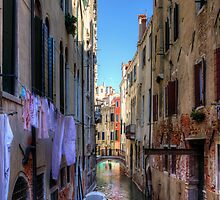 Washday in Venice by Tom Gomez