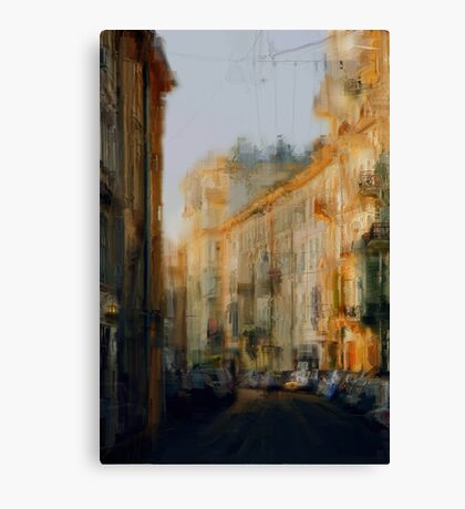 Old Moscow lane Canvas Print