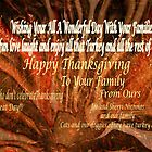 Happy Thanksgiving to all you wonderful artists friends by Sherri     Nicholas