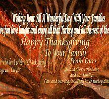 Happy Thanksgiving to all you wonderful artists friends by Sherri     Nicholas