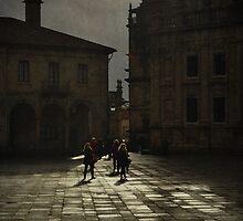 Chove en Santiago  by rentedochan