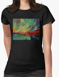 Aurora Womens Fitted T-Shirt