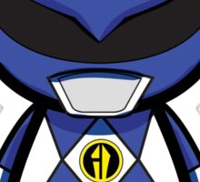 Blue Power Ranger Sticker