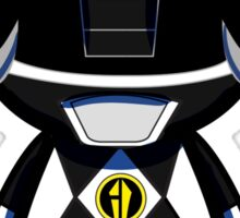 Black Power Ranger Sticker