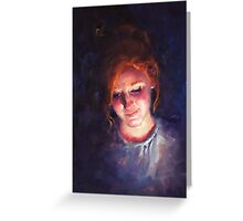 Devan Portrait Greeting Card