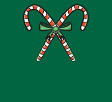 Candy Cane Womens Fitted T-Shirt