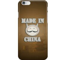 Made in China Cat iPhone Case/Skin