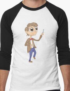 eleventh doctor cutie Men's Baseball ¾ T-Shirt