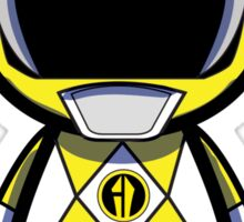 Yellow Power Ranger Sticker