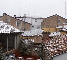 from the roofs of Parma I think .....Italy ... World by Guendalyn