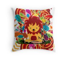 The survival of the fittest Throw Pillow