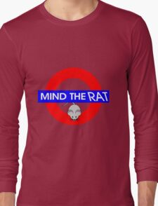 Mind the Rat Long Sleeve T-Shirt