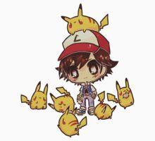 Ash & Pikachu's by Chopstixxz