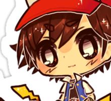Ash & Pikachu's Sticker