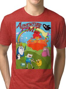 Adventure Time, fin  Tri-blend T-Shirt