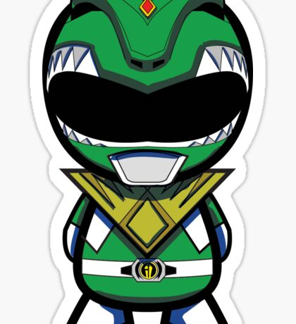 Green Power Ranger Sticker