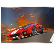 2011 Ford GT III Poster
