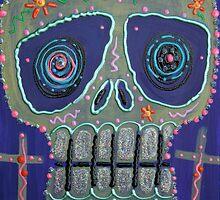Candy Sugar Skull by Laura Barbosa