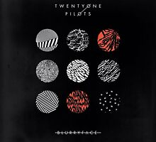 blurryface album cover poster by leylajpeg