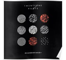 blurryface album cover poster Poster